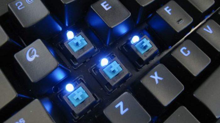 Bàn phím cơ Switch Cherry được xem là mẫu chuẩn nhất.