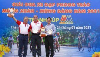 Giải đua xe đạp phong trào mừng xuân 2021