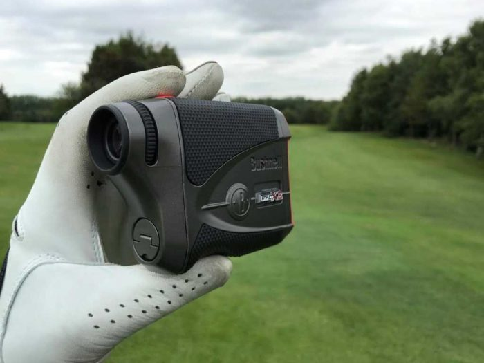 Golf thủ được dùng máy đo khoảng các giải các giải major của PGAA