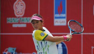 Huỳnh Trần Ngọc Nhi vô địch giải quần vợt Thanh thiếu niên toàn quốc Cúp Hưng Thịnh