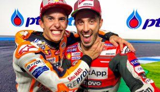 Marc Marquez chấn thương, Andrea Dovizioso với động thái sẵn sàng trở lại MotoGP