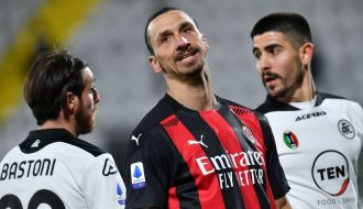 Milan bất ngờ để thua trước Spezia - tân binh trong Serie A